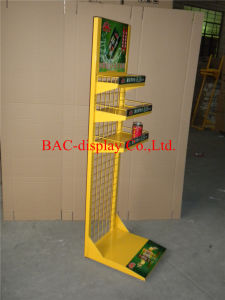 Factory Direct Sale Metal Frame Floor Display Stand for Softdrink pictures & photos