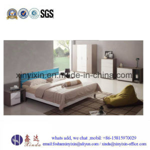 Black White Color Melamine Bedroom Furniture (SH-030#) pictures & photos
