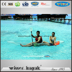 Full Transparent Double or Single Crystal Kayak pictures & photos