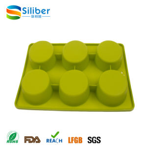 Promotional 6 Cups Cake Muffin Cupcake Baking Mold/Mould pictures & photos