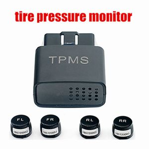 Android 4 Wheel Tyre Pressure Temperature Monitor TPMS External Sensors pictures & photos