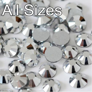 5mm Glass Crystal Rhinestones Flat Back Loose Rhinestones Crystal (FB-ss20 silver) pictures & photos
