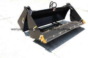 China 4 in 1 Bucket for Bobcat Skid Steer Loader pictures & photos