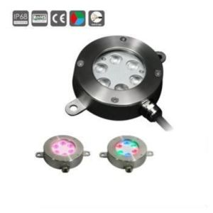 18W Stainless Steel LED Underwater Fountain Lights pictures & photos