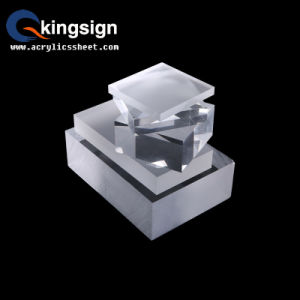 Kingsign Supply 100% Virgin Transparent Acrylic Sheet Product pictures & photos