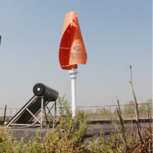 Vertical Wind Generator 300W 12V with Charge Controller pictures & photos