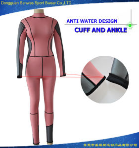 Woman Neoprene Full Body Scuba Diving Snorkeling Suit Wetsuit