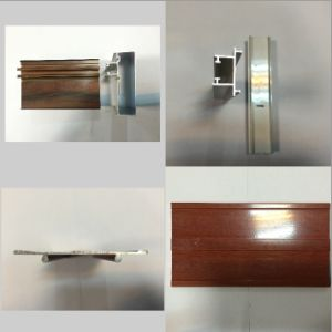 Aluminium Profile for Windows and Door  Wood Grain Aluminum Profiles  Anodized and Powder Coating Aluminium Profiles pictures & photos