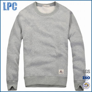 Mens Cashmere Round-Neck Sweatshirt with Long Sleeve pictures & photos