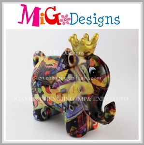 2017 Lovely Elephant Design Custom Money Box pictures & photos
