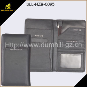 OEM High Quality Popular Leather Travel Wallet with Passport Holder pictures & photos