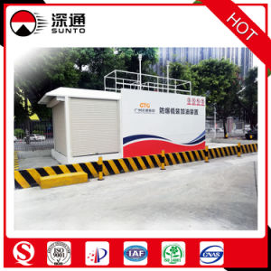 20FT/40FT Single/Double Anti-Explosion Skid Mounted Fuel Station Mobile Fuel Station pictures & photos