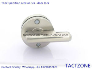 Good Selling Toilet Cubicle Partition Accessories Bathroom Door Lock pictures & photos