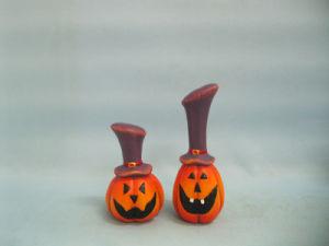 Halloween Pumpkin Ceramic Arts and Crafts (LOE2382-12) pictures & photos