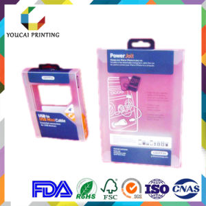 Factory Wholesale High Quality Clear Acetate Box with Color Printing pictures & photos