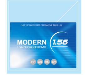 1.56 Flat Top Photobrown Plastic Lens Hc pictures & photos