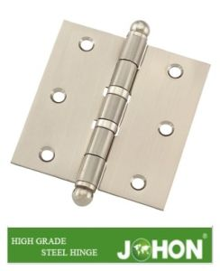"Door Hardware Fastener Hinge (3""X3"" Steel or Iron furniture fittings) pictures & photos"