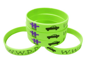 Logo Customized Various Silicone Wristbands with Free Professional Design pictures & photos