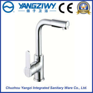 Yz5916 Brass Waterfall Bathroom Kitchen Faucet with Ce Approved