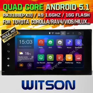 Witson Android 5.1 Car DVD for Toyota RAV4 (2001-2008) (W2-F9159t) pictures & photos