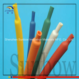 "1/8"" Heat Shrink Tubing Wire Wrap Black Polyolefin 2: 1 pictures & photos"