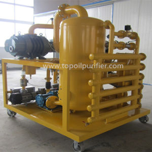 Double-Stage Vacuum Transformer Oil Purifier Insulating Oil Restoration Plant (ZYD) pictures & photos