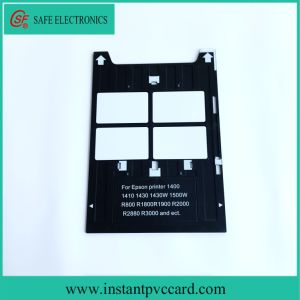 Plastic PVC Card Tray for Epson R1800 Inkjet Printers pictures & photos
