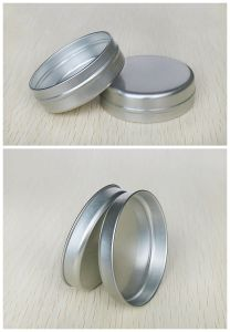 60g Cosmetics Aluminum Cans Slip Lid Tins pictures & photos
