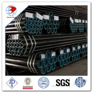 API 5L Grade B/ X42/52/X60/X65/70 Anti-Corrosion Coated Carbon Steel Seamless Oil Gas Line Pipe pictures & photos