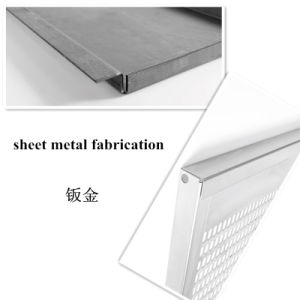 Low Price Sheet Metal Fabrication for Consoles (GL051) pictures & photos