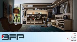 Classic Design Bedroom Furniture Melamine Walk in Closets pictures & photos