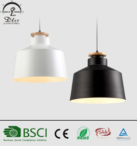 Black Color Metal Simple Pendant Lamp with Ce, SAA Certification pictures & photos