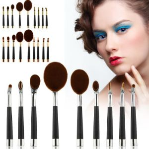 New Style Mermaid Oval Toothbrush Makeup Brush pictures & photos