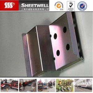Laser Cut Color Zinc-Plated Bending Steel Parts pictures & photos
