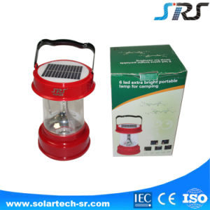 Solar Lantern with Mobile Phone Charger High Quality OEM Portable Rechargeable LED Solar Lantern SRS Factory pictures & photos