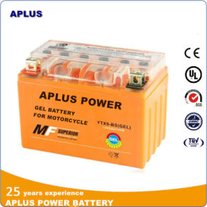 Leading Technology Product Gel Battery Ytx9-BS 12V 9ah for Motorcycle pictures & photos