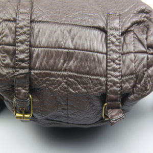 Leisure Bag New Women Washed PU Backpack pictures & photos