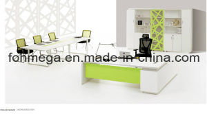 Modern Office Furniture Wholesale White Manager Office Desk (FOH-ED-M2420) pictures & photos