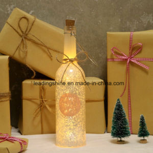 Christmas Holiday Starlight Bottle Friend Glass Bottle LED Lights Special Gift for Party Gifts pictures & photos