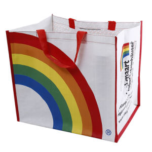 Recyclable Polypropylene Shopping Laminated Used PP Woven Bag pictures & photos