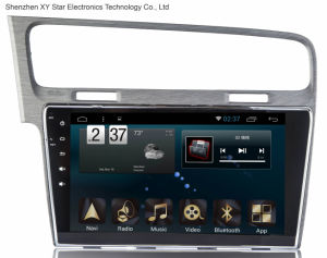 Android 6.0 System 10.1 Inch Big Screen GPS Navigation for VW Golf 2014 pictures & photos