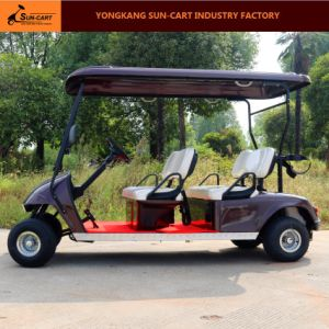 Ce Certificated 4 Seater Electric Golf Cart for Golf Course pictures & photos