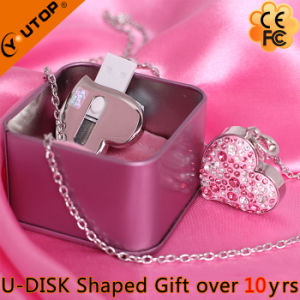 Crystal Sliding USB Flash Memory for Present (YT-6263) pictures & photos