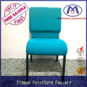 Wholesale Stackable Metal Durable Linked Steel Green Conference Chair pictures & photos