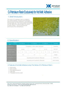 C5 Petroleum Resin for Hot Melt Additives pictures & photos