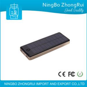 Hot Selling 12000 mAh Portable Solar Charger Power Bank pictures & photos