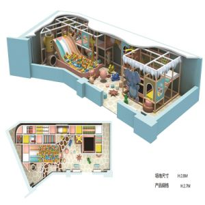 Hottest Indoor Playground Happy Castle Play Party Center Equipment pictures & photos