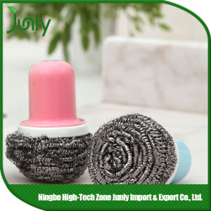 Kitchen Cleaning Tools spiral Scourer Kitchen Cleaning Brush pictures & photos