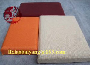 Auditorium Deco Material Leather Fabric Acoustic Panel pictures & photos