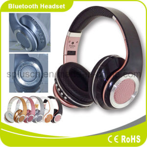 Noise Canceling NFC Function Headband Style Foldable Bluetooth Wireless Headphone pictures & photos